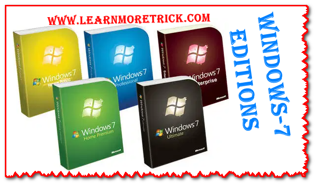 Windows 7 editions review