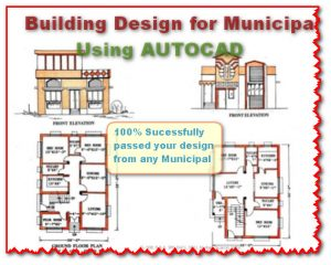 How to make Building Drawings for Municipal using AUTOCAD